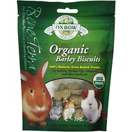 Oxbow Bene Terra Organic Barley Biscuits Small Animal Treats, 2.65-oz bag