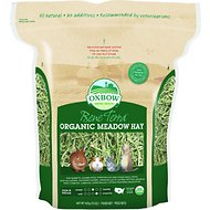 Oxbow Bene Terra Organic Meadow Hay Small Animal Food, 15-oz bag