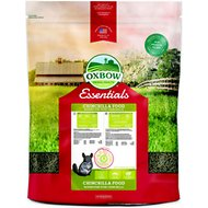 Oxbow Essentials Chinchilla Deluxe Chinchilla Food, 25-lb bag