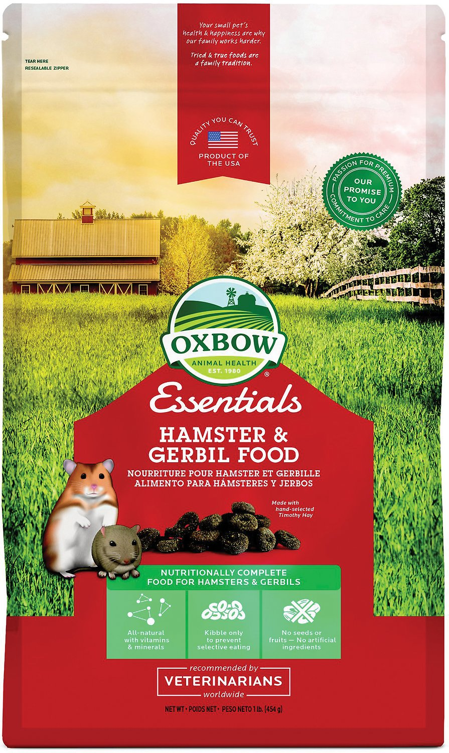 Oxbow Garden Select Hamster Food Review
