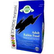 Oxbow Natural Science Adult Rabbit Food, 4-lb bag