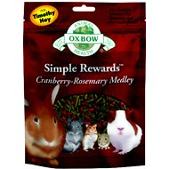 Oxbow Simple Rewards Cranberry-Rosemary Medley Small Animal Treats, 2.5-oz bag