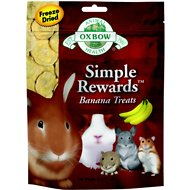 Oxbow Simple Rewards Freeze-Dried Banana Small Animal Treats, 1-oz bag