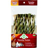 Oxbow Timothy Club Twists Small Animal Treats, 6 count