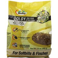 Quiko Goldy Egg Food Supplement for Softbills & Finches, 14-oz bag