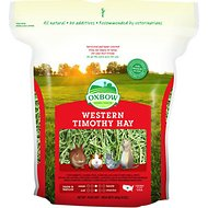 Oxbow Western Timothy Hay Small Animal Food, 15-oz bag