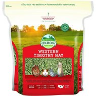 Oxbow Western Timothy Hay Small Animal Food, 9-lb bag