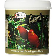 Quiko Lori Complete Lorikeet Food, 12.37-oz jar