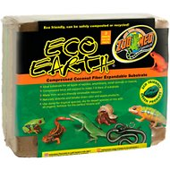 Zoo Med Eco Earth Compressed Coconut Fiber Expandable Reptile Substrate, 3 count