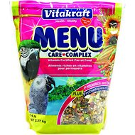 Vitakraft Menu Care Complex Parrot Food, 5-lb bag