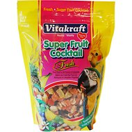 Vitakraft Super Fruit Cocktail Parrot & Cockatiel Treats, 20-oz bag