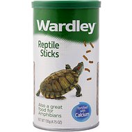 Wardley Reptile Sticks Reptile & Amphibian Food, 14.5-oz jar