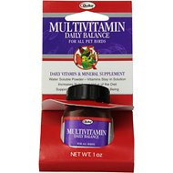 Quiko Multivitamin Daily Balance Supplement for Birds, 1-oz bottle