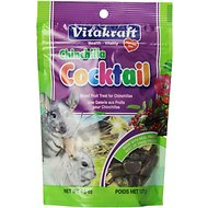 Vitakraft Fruit Cocktail Chinchilla Treats, 4.5-oz bag