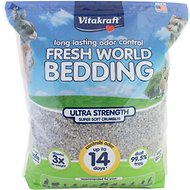Vitakraft Fresh World Ultra Strength Small Animal Bedding, 35-L