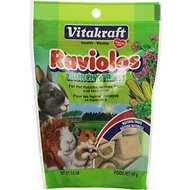 Vitakraft Raviolos Crunchy Small Animal Treat, 5-oz bag