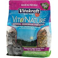 Vitakraft VitaNature Natural Chinchilla Food, 2.75-lb bag
