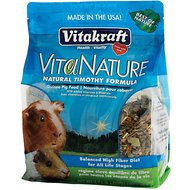Vitakraft VitaNature Natural Timothy Guinea Pig Food, 2.75-lb bag