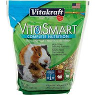 Vitakraft VitaSmart Complete Nutrition Guinea Pig Food, 4-lb bag