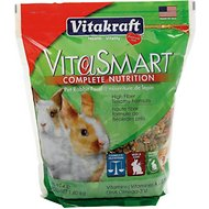 Vitakraft VitaSmart Complete Nutrition Rabbit Food, 4-lb bag