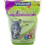Vitakraft VitaSmart Fortified Nutrition Chinchilla Food, 3-lb bag