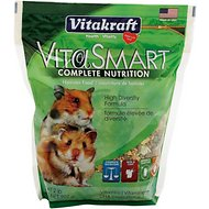 Vitakraft VitaSmart Complete Nutrition Hamster Food, 2-lb bag