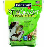 Vitakraft Complete Nutrition Rat, Mouse & Gerbil Food, 2-lb bag