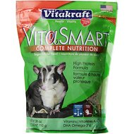 Vitakraft VitaSmart Complete Nutrition Sugar Glider Food, 28-oz bag