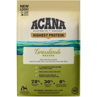 ACANA Grasslands Regional Formula Grain-Free Dry Dog Food, 13-lb bag