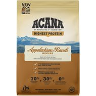 ACANA Appalachian Ranch Regional Formula Grain-Free Dry Dog Food, 4.5-lb bag