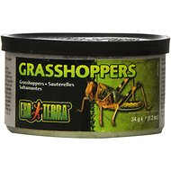 Exo Terra Grasshoppers Reptile Food, 1.2-oz jar