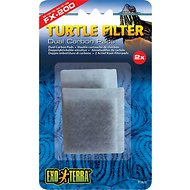 Exo Terra FX-200 Dual Carbon Pads Turtle Filter, 2 count