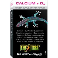 Exo Terra Calcium + Vitamin D3 Powder Reptile Supplement