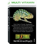 Exo Terra Multi Vitamin Reptile & Amphibian Supplement, 2.5-oz box