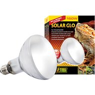 Exo Terra Solar Glo All in One Reptile Lamp, 160-w bulb