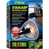 Exo Terra Swamp Basking Splash Proof Reptile Spot Lamp, 75-w bulb