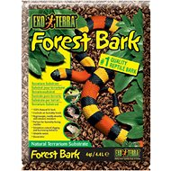 Exo Terra Forest Bark Natural Fir Terrarium Reptile Substrate, 4-qt