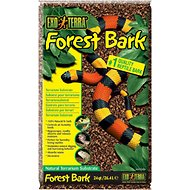 Exo Terra Forest Bark Natural Fir Terrarium Reptile Substrate, 24-qt