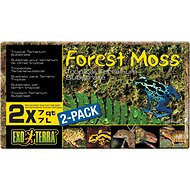 Exo Terra Forest Moss Tropical Terrarium Reptile Substrate, 7-qt, 2 count