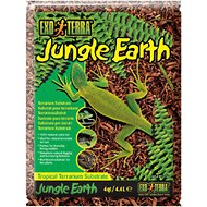 Exo Terra Jungle Earth Tropical Terrarium Reptile Substrate, 4-qt