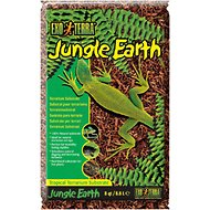 Exo Terra Jungle Earth Tropical Terrarium Reptile Substrate, 8-qt