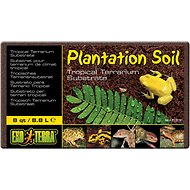 Exo Terra Plantation Soil Brick Tropical Terrarium Reptile Substrate, 8-qt, 1 count