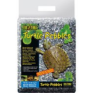 Exo Terra Turtle Small Natural River Pebbles, 10-lb bag