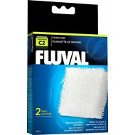 Fluval C2 Foam Pad Filter Media, 2 count
