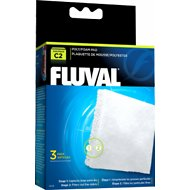 Fluval C2 Poly/Foam Pad Filter Media, 3 count