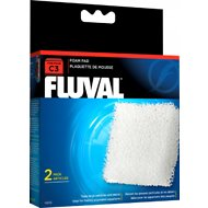 Fluval C3 Foam Pad Filter Media, 2 count