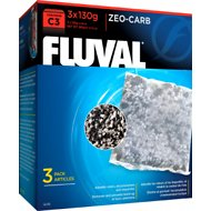 Fluval C3 Zeo-Carb Filter Media, 3 count