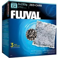 Fluval C4 Zeo-Carb Filter Media, 3 count