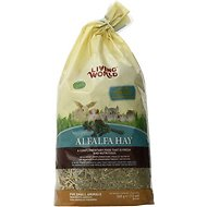 Living World Alfalfa Hay Small Animal Food, 12-oz bag