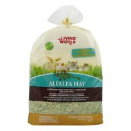 Living World Alfalfa Hay Small Animal Food, 48-oz bag